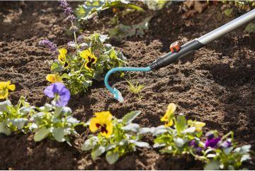 Cuốc làm vườn 14cm Gardena 03112-20 - Nhập khẩu CH Séc