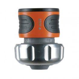 "Cút nối kim loai tự khóa 19mm (3/4"") gardena 08169-50"