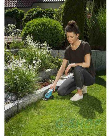 Máy cắt cỏ cầm tay kèm cán nối dài Gardena 09858-20